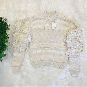 NWT Ulla Johnson Delma Pullover Cream MSRP: $595